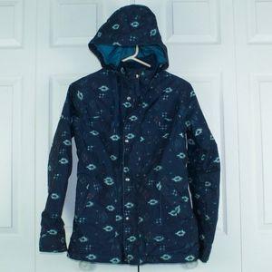 Burton Dry Ride Ski Snowboard Jacket Coat Blue S